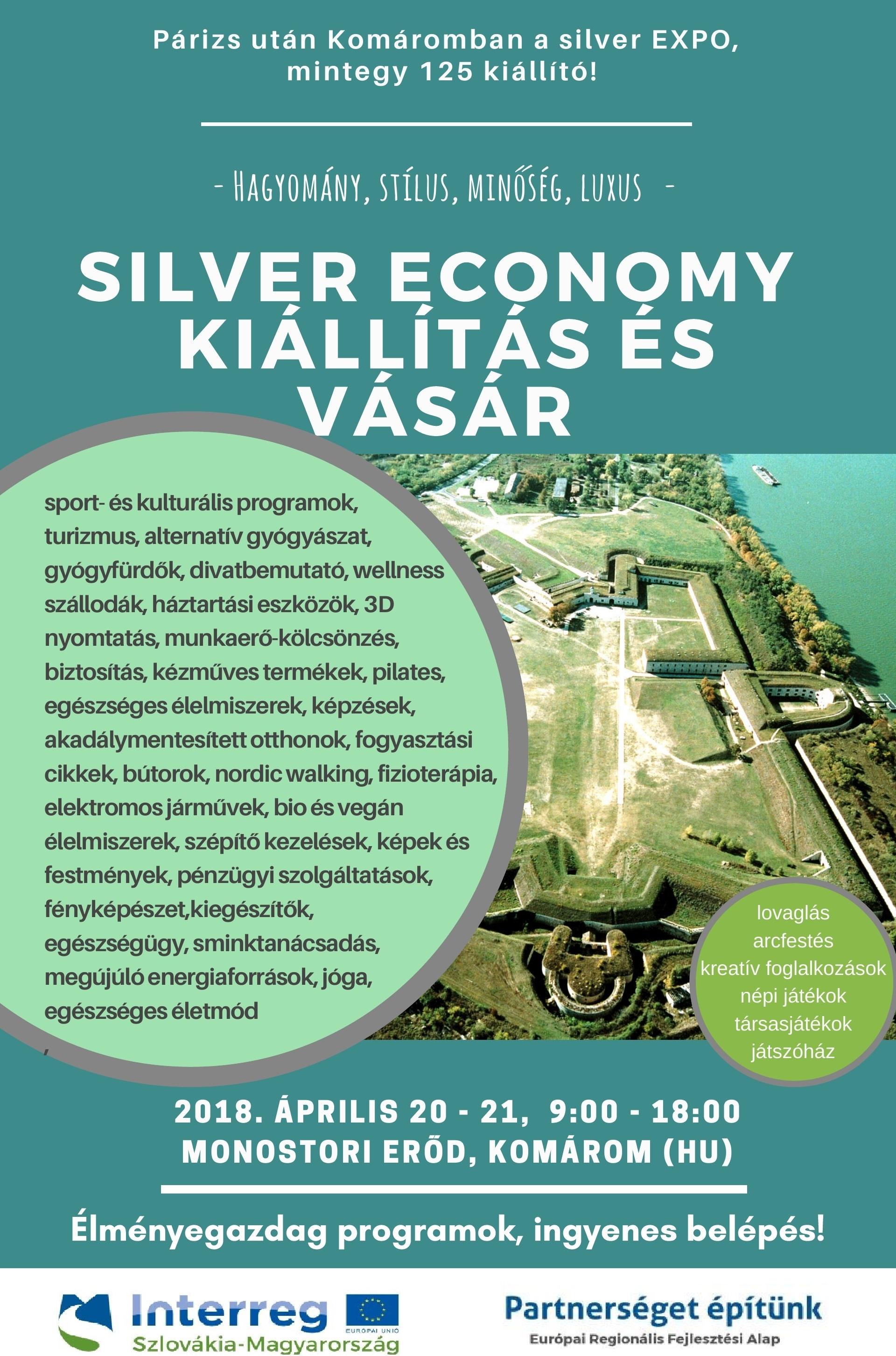 Silver Economy Kiállítás és Vásár