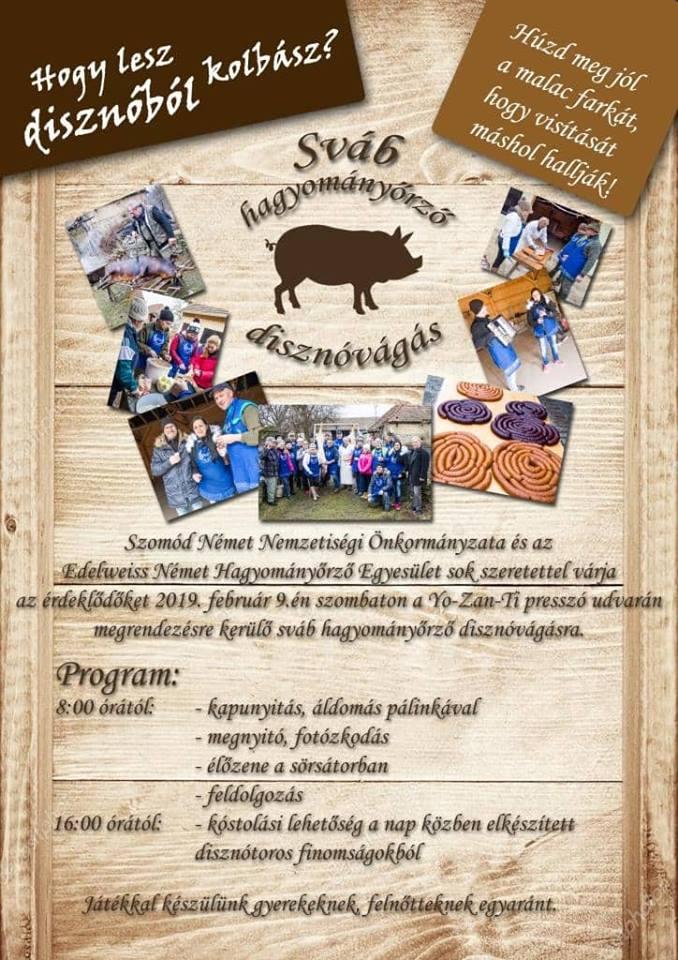 Sváb hagyományőrző disznóvágás